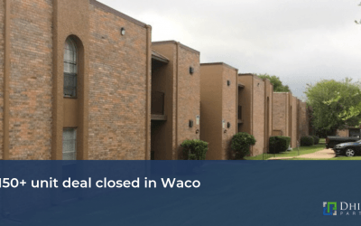 A 150+ unit deal closed in Waco