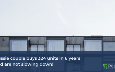 Aussie couple buys 324 units in 6 years  and are not slowing down!